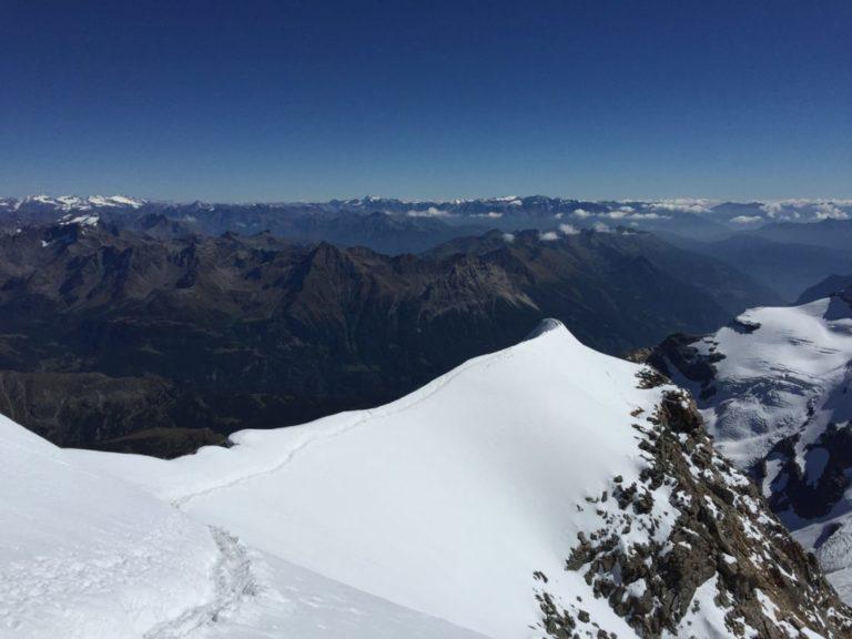 Der Gipfelgrat am Piz Palü
