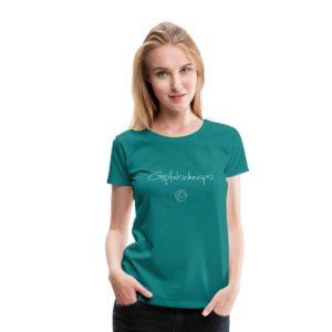 Gipfelschnaps T-Shirt Frauen Weiß
