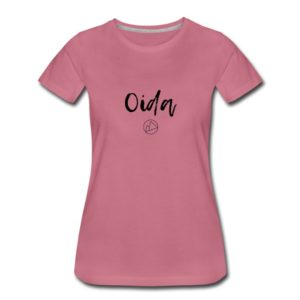Oida T-Shirt Frauen Schwarz #2