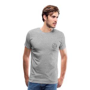 Peakwear Logo Männer T-Shirt Schwarz #2