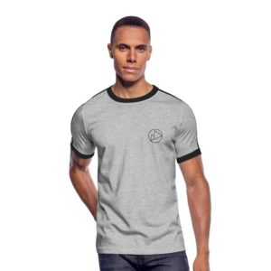 Peakwear Logo Männer T-Shirt Schwarz