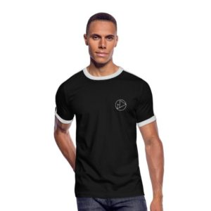 Peakwear Logo Männer T-Shirt Weiß